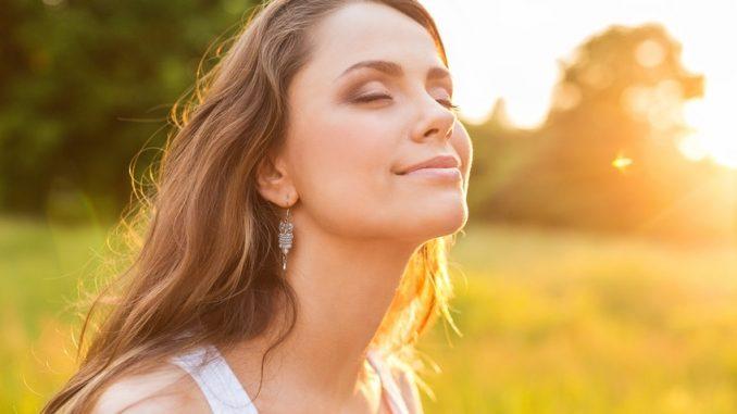 Women, Healthy Lifestyle, Sun.
