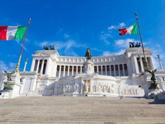 """The Vittoriano Monument in Rome, Italy a.k.a. """"Altare della Patria"""""""