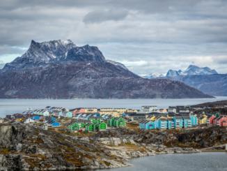 Paesaggio Groenlandia Nuuk
