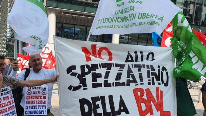 Sindacati in Piazza a Milano